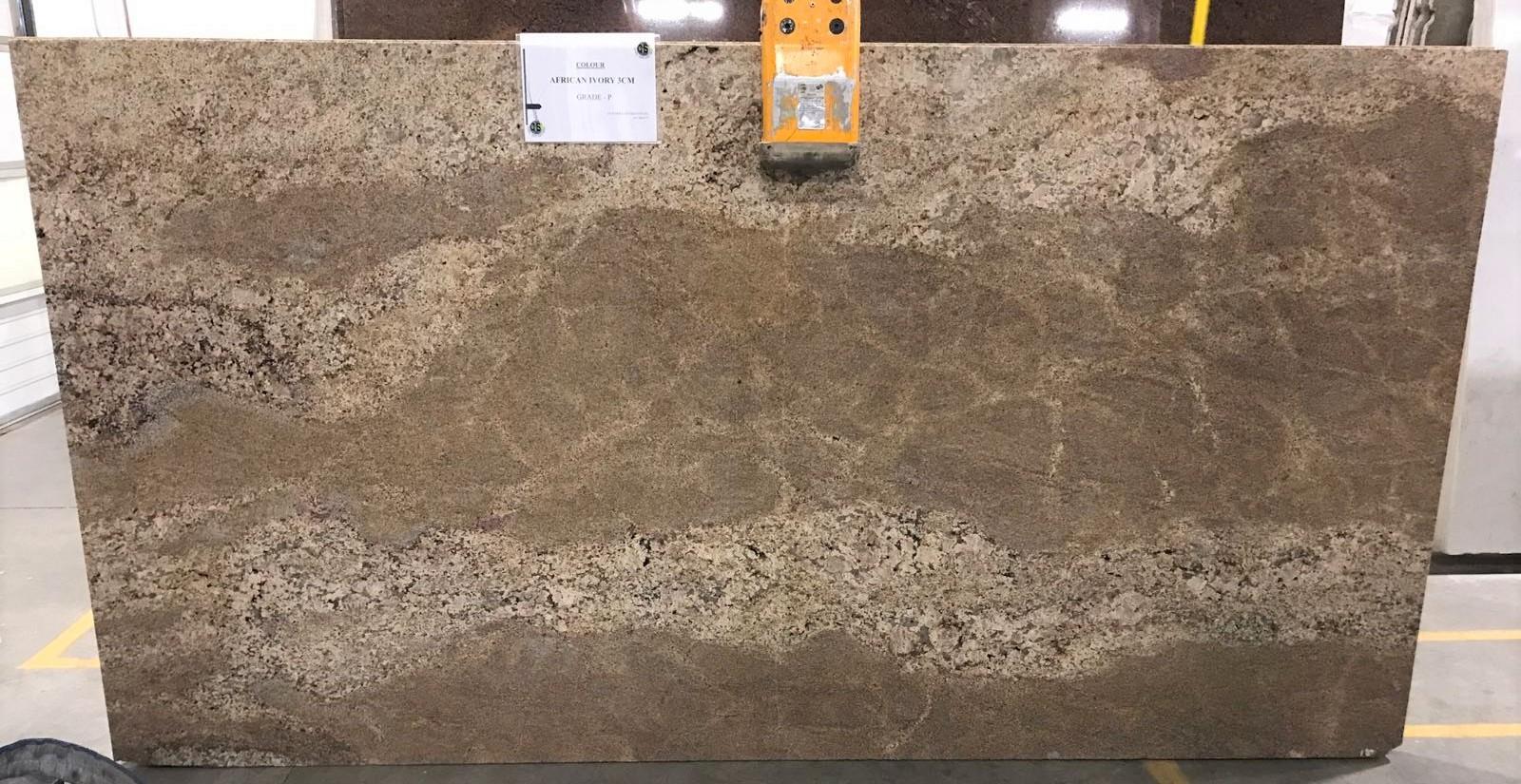 African Ivory Granite Slab 30Mm