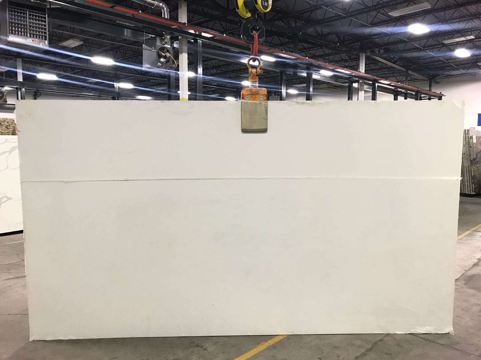 Absolute White Super Jumbo Quartz Slab 30Mm