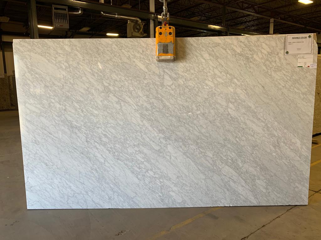 Bianca Carrara Marble Slab 30Mm