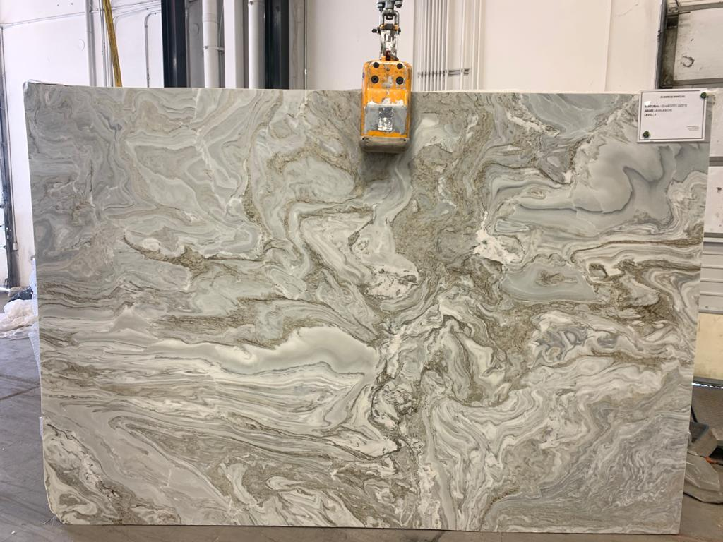 Avalanche Leathered Quartzite Slab 30 Mm