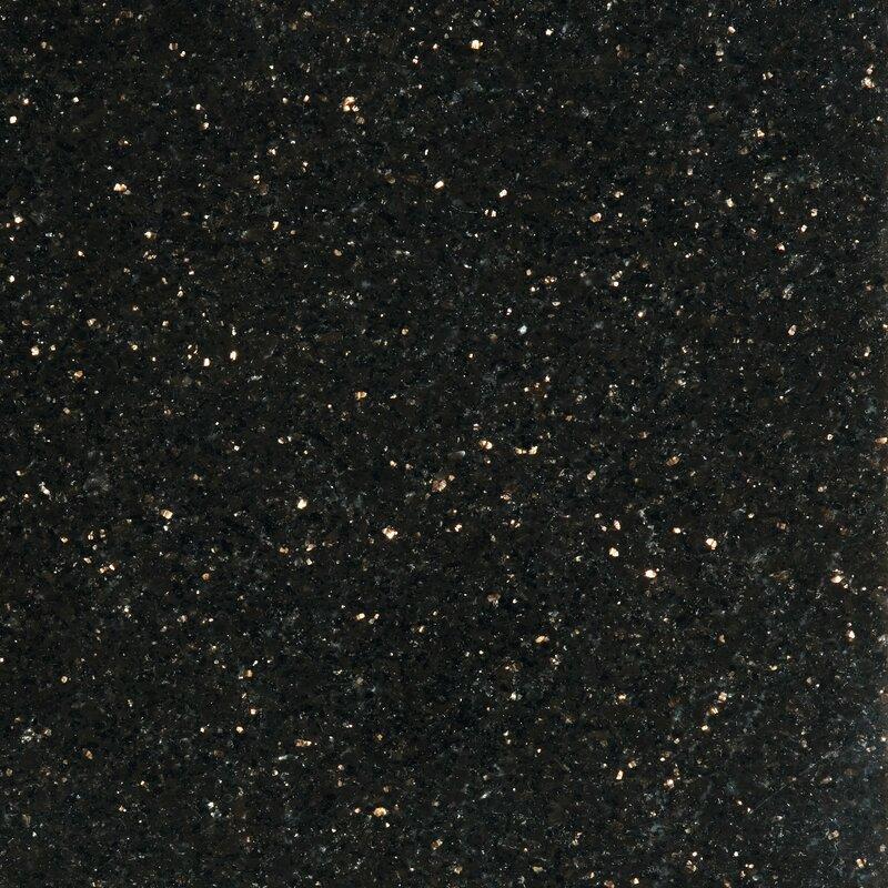 Black Galaxy Granite Slab 30Mm