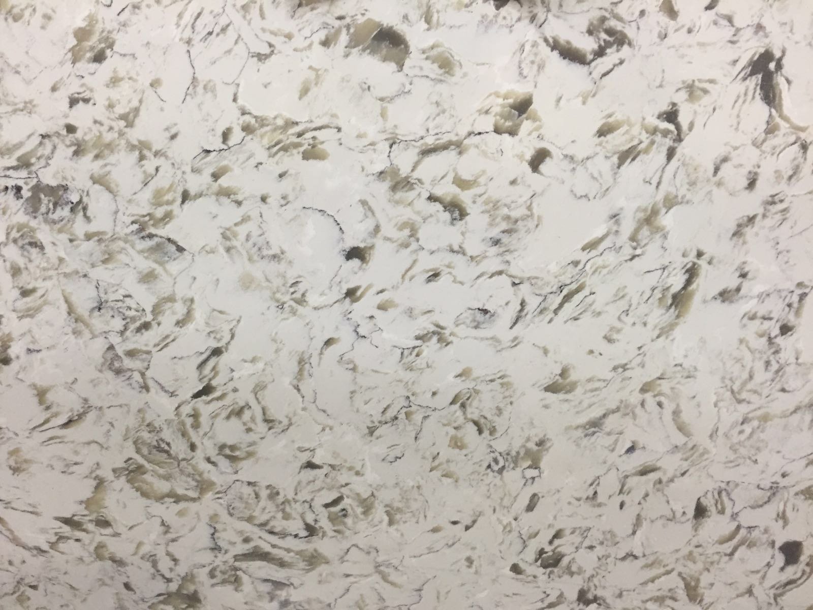 Beige River Quartz Slab 30Mm
