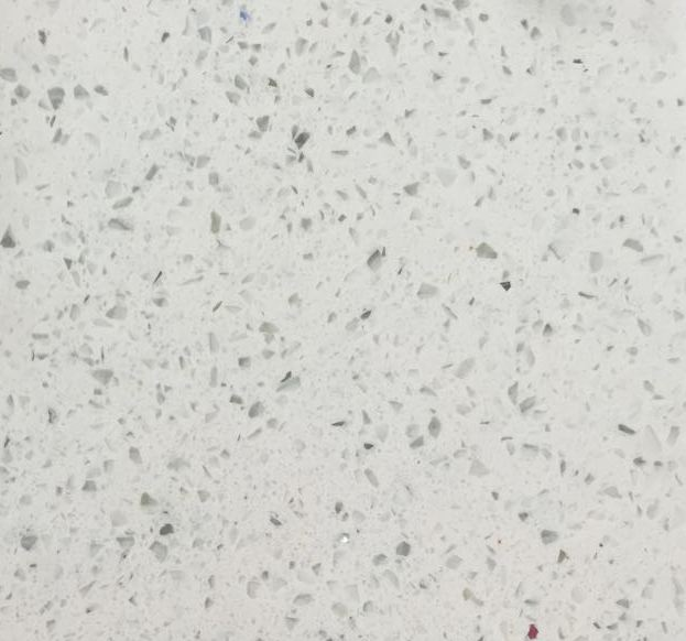 Bianco Galaxy Quartz Slab 30Mm
