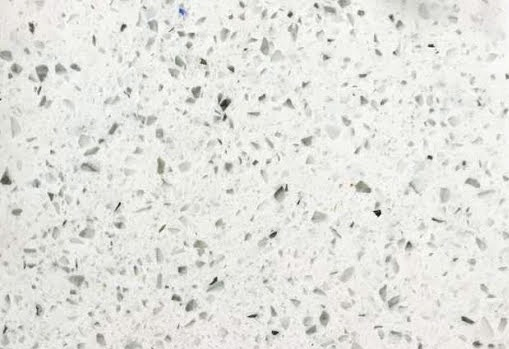 Bianco Galaxy Super Jumbo Quartz Slab 30 Mm