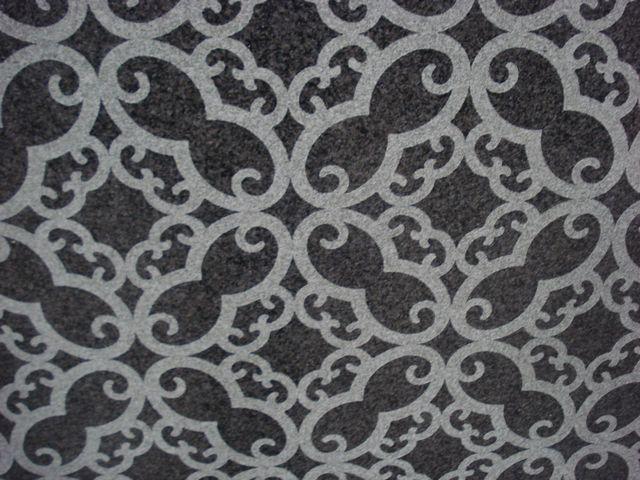 IMPALA BLACK GRANITE SLAB ARABICA DESIGN 20MM
