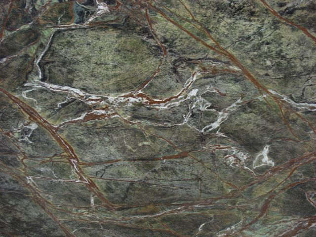 FOREST GREEN MARBLE SLAB 30MM