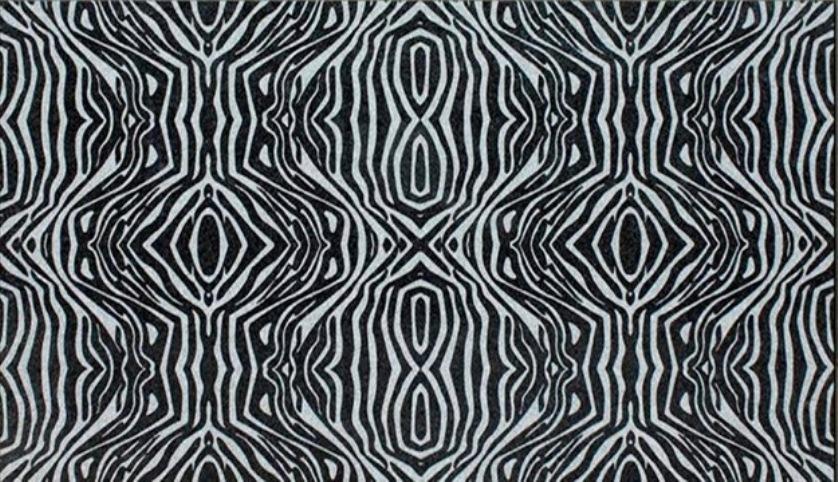 ABSOLUTE BLACK GRANITE SLAB ZEBRA+ DESIGN 20MM