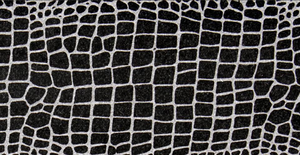 ABSOLUTE BLACK GRANITE SLAB CROCO DESIGN 20MM