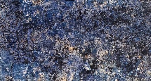 Blue Agata 3 cm